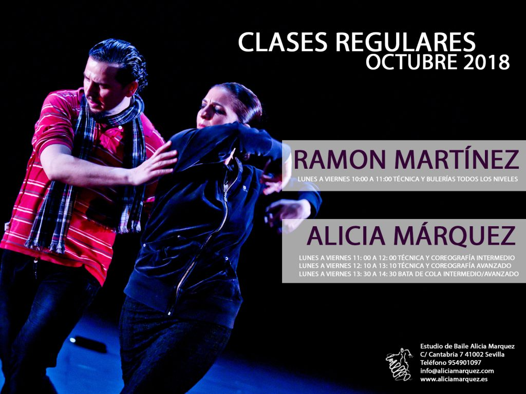 Clases regulares de flamenco en sevilla 2018